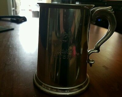 Whitbread British Pewter Tankard Breweriana Made In Sheffield