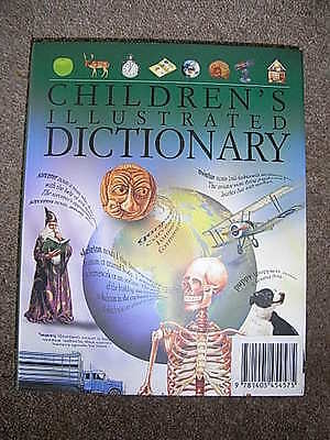 Brand New Hardbacked Childrens Illustrated Dictionary