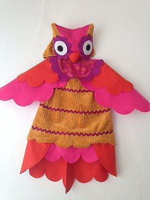 Colorful Owl Halloween Costume Size 2T