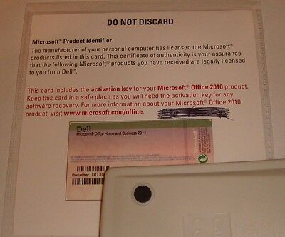 Genuine Microsoft Office 2010 Home and Business Code - Full Version For Windows