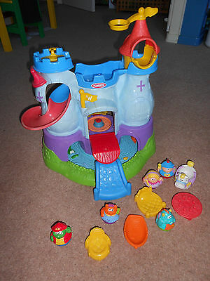 Weebles Castle Playskool Weebalot Knight Dragon Princess Cat Turtle OX17 Banbury