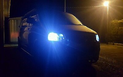 Vw Transporter T5 T6 Led Sidelights Canbus Error Free Xenon White 501 W5W