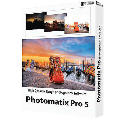 HDR Soft Photomatix Pro 5  Licence 1 pc  (download)
