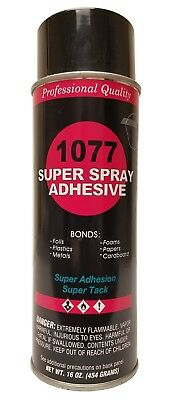 V&S 1077 Super Spray Adhesive Fine Mist Spray Pattern
