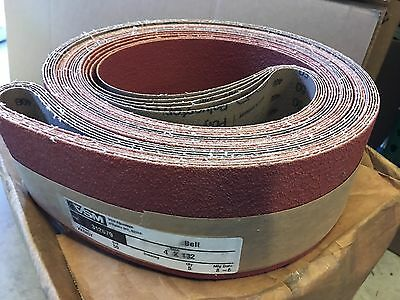 VSM Sanding Belts 4 x 132 Grit 50 Part 312679 5 Pak NEW
