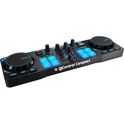 DJ Equipment Mixer Deck Usb Controller Hercules Music Computer Beginner NEW