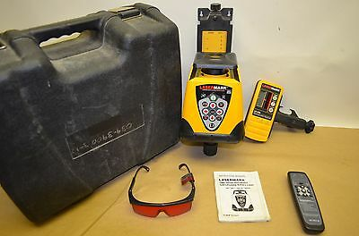 Cst Lasermark By Berger Lmh600 Horizontal Rotary Laser, Receiver, Remote, Case