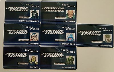 Dc Heroclix Dcid-001 Phantom Stranger Id Card W/ New Code Con Ex Justice League