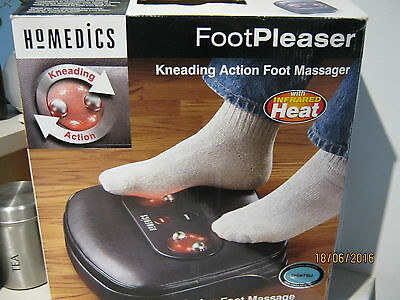 Homedics Foot Massager Shiatsu Kneading action with infrared Like New pick up