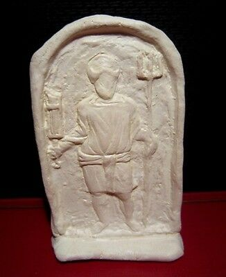Terracotta Votive Plaque Depicting Gladiator, Replica!!!