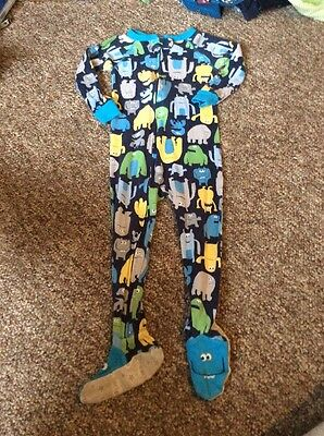Carters Monster Pajamas Size 24 Months