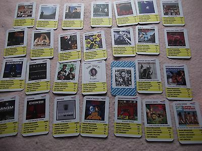 Hip Hop Heroes Limited Edn. 28 Album Top Trump Cards Includes Dre,eminem+Others