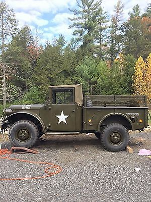 1953 Dodge M-37 Military truck