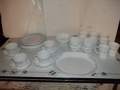 Lot Of 38 Pieces Of Corelle  Dinnerware