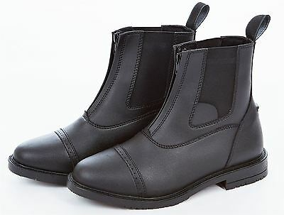 Sherwood Forest Alton Riding Jodphur Zip Up Black Boot Mens Ladies UK 3 - UK 10