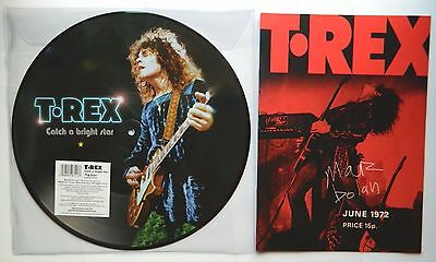 T.rex : Catch A Bright Star Picture Disc + Limited Edition 1972 Tour Programme