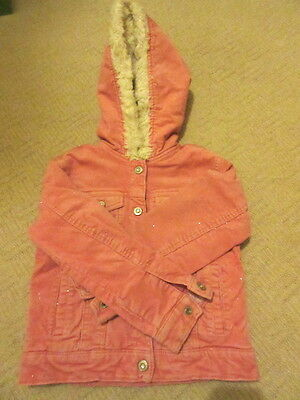 Girls Gap Kids Pink Jacket 6-7 years