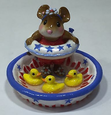 Wee Forest Folk Ducky Dip LIMITED -  RETIRED  --7 DAY LISTING