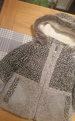 Beautiful girls winter coat from next age 2/3yrs