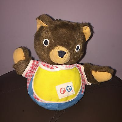 1960S Musical Wobble Fisher-Price Teddy Bear Vintage Toy