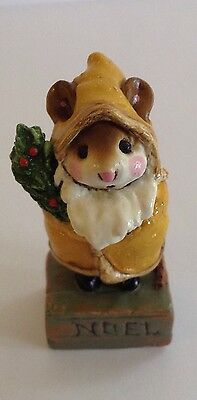 Wee Forest Folk Father Chris-Mouse M-164 VERY RARE -7 DAY LISTING