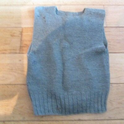 WW1 US soldier's Knitted Sleeveless Sweater