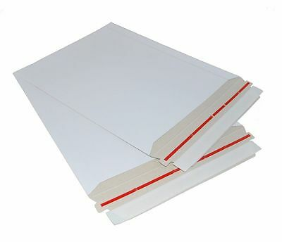 2- Rigid Photo Mailer Envelopes Stay Flat 13x18 Durable Extra Thick Heavy Duty