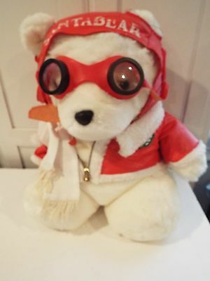 1987 Dayton Hudson Santa Bear Aviator with tags