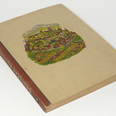 Cigarette Card Album of German Culture in 5 Centuries w/300 cards Germany Book
