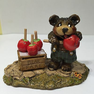 Wee Forest Folk Bear Faire RETIRED EXCELLENT- ANNETTE -7 DAY LISTING