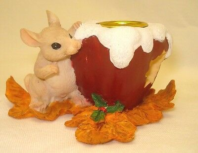 Charming Tails Apple Candle Holder Dean Griff