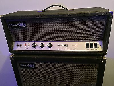 Vintage 1967 Sunn 200s amp head. All original 1st year of manufacture.