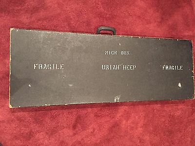 Uriah Heep - Mick Box  -Guitar Case From The Early 1970's