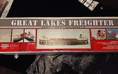 Dumas Boats Great Lakes Freighter 1/96 Scale Model 1264