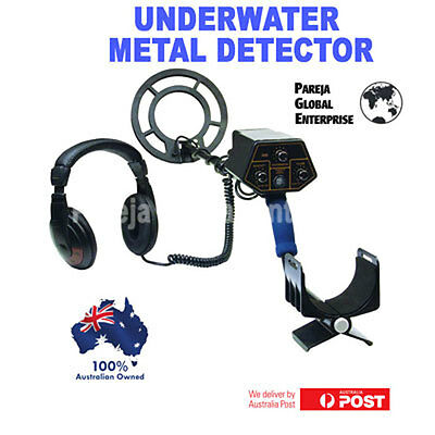 Underwater Submersible Gold Coins Metal Detector Scuba Diving Or Land