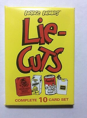Newhamm Package Parodies Lie Cuts Series 1 Sealed Wax Pack Wacky