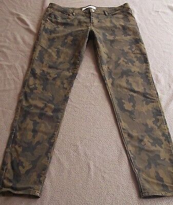Country Road Skinny Leg Camo Jeans - Size 14