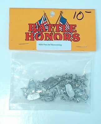 15mm WW II German Fallschirmjäger Skirmishing Battle Honors Miniatures 4166  New