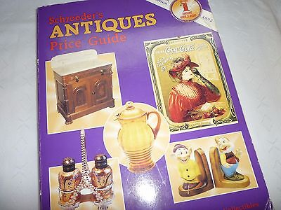 Schroeder's Antiques Price Guide 1992