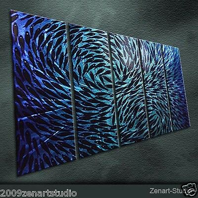 Modern Abstract Metal Art Original Shining Large Indoor-Outdoor Decor-Zenart
