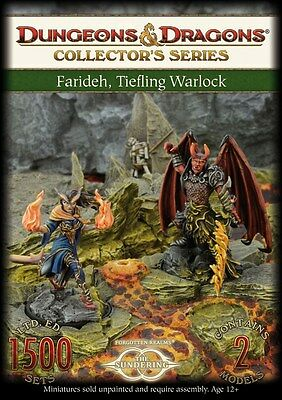 Gale Force Nine - D&D Collector's Series: Farideh, Tiefling Warlock  71020