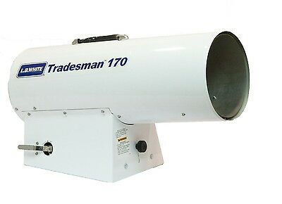 Tradesman 170 LP Portable Forced Air 170,000 Btuh