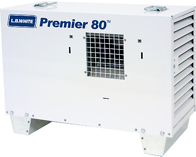 LB White Premier 80 Ductable Tent/Construction Heater, Propane 80,000 BTU/HR