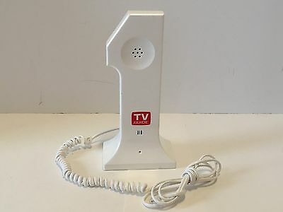 Vintage # 1 Tv Guide Advertising Telephone Corded Phone