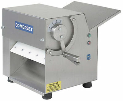 "CDR100 Somerset Ind Dough Sheeter, Pizza Dough Roller 10"" One Pass!"