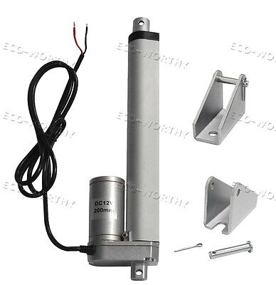 """Multi-function 8"""" Stroke Electric Linear Actuator 330lbs Max Lift DC 12V Motor"""