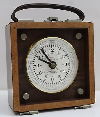 ENSIGN Electronics Crystal Controlled Chronometer Clock Model CCC-12