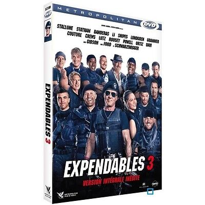 Dvd Expendables 3