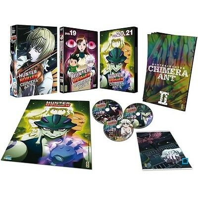 DVD HUNTER X HUNTER : CHIMERA ANT Vol. 2 - Coff. 3 DVD