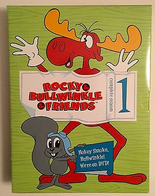 Rocky and Bullwinkle and Friends  Complete Season 1 DVD Set  Comedy Animation